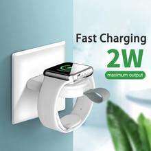 Mini แบบพกพาไร้สายชาร์จสำหรับ Apple IWatch 1/2/3/4/5 Fast Charging Adapter ไร้สายสมาร์ทนาฬิกาชาร์จฐาน