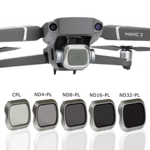 Kit de filtre dobjectif de caméra Mavic 2 Pro filtre polarisant CPL ND PL filtre densité ND4/8/16/32 pour accessoires Drones DJI Mavic 2 Pro