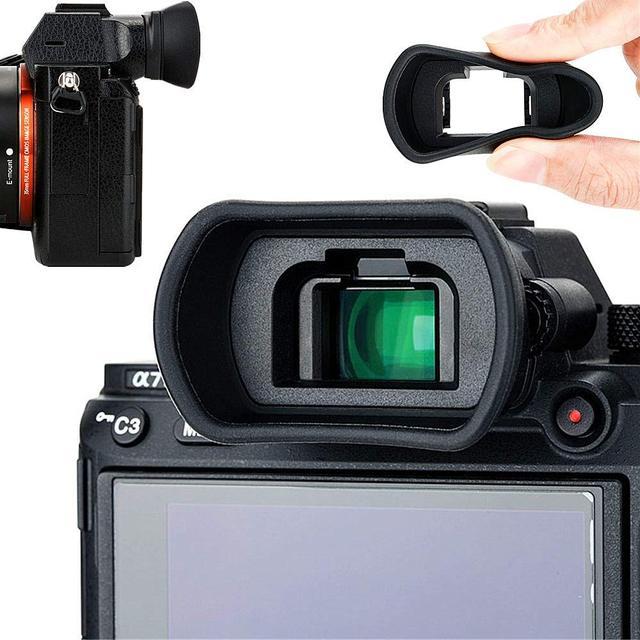 Copa ocular para cámara visor para Sony a7 a7 II a7 III a7R a7R II a7R III a7R IV a7S II a58 a99 II a9 II sustituye a FDA EP18