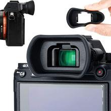 Kamera Eyecup vizör mercek Sony a7 a7 II a7 III a7R a7R II a7R III a7R IV a7S II a58 a99 II a9 II değiştirir FDA EP18