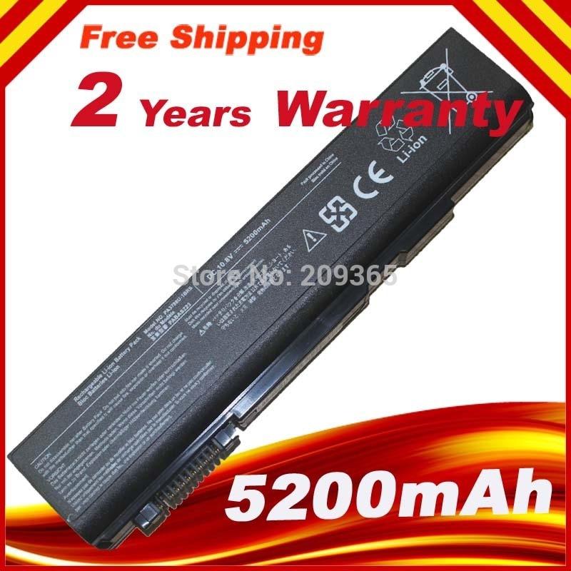 10.8V 55WH 5090MAH PA3788U-1BRS New Laptop Battery For Pro S500 S750 A11 M11 S11 PA3788U PA3788U-1BRS PA3788 PABAS223
