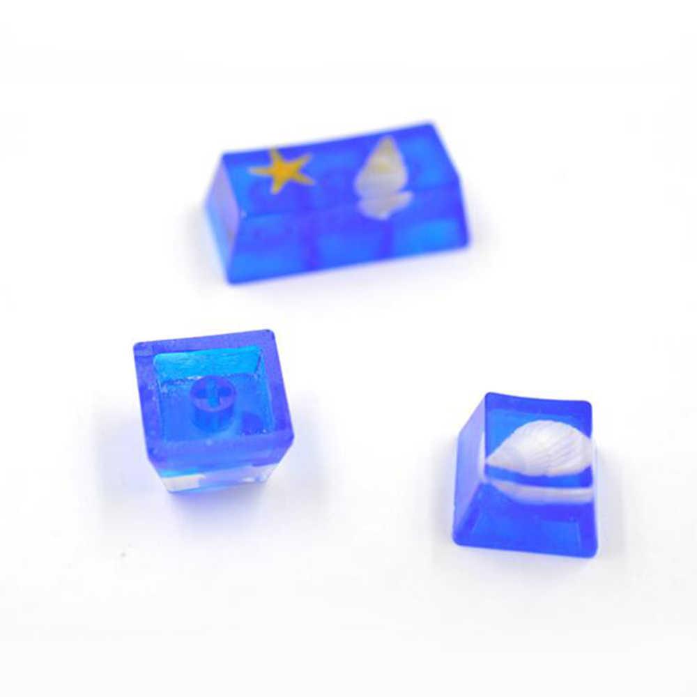 ثلاثية الأبعاد جديد شفاف سيليكون قلادة قالب المجففة زهرة الراتنج الزخرفية الحرفية DIY بها بنفسك الجمجمة قالب الايبوكسي الراتنج قوالب للمجوهرات