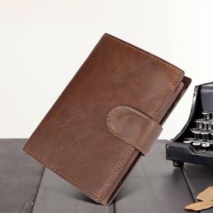 Men Wallet Leather Retro Real