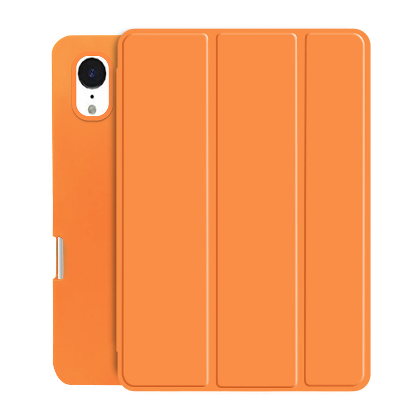 Orange Beige Case For New iPad Air 4 10 9 2020 Soft Silicone Cover Tablet Case Smart Case