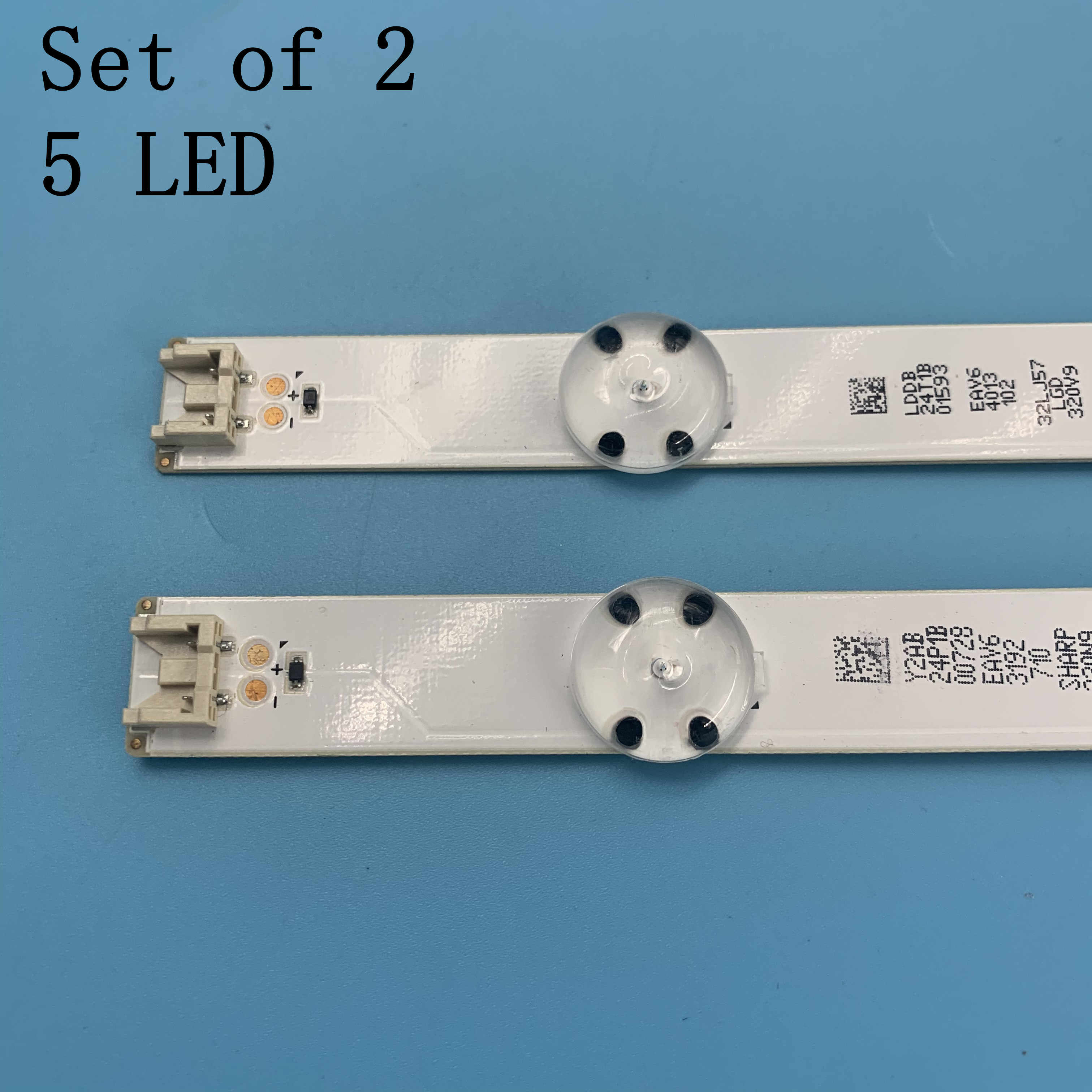 2pcs LED רצועת SSC_32inch_HD_REV05_150925 32LH51_HD עבור LG 32LF510U 32LH570B 32LH51_HD 32LF510U 32LH590U 32LH570B
