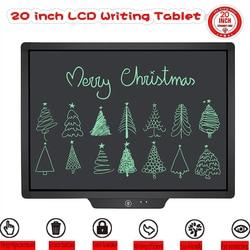 20 Inch LCD Schrijven Tablet Digitale Hand Tekening Kinderen Handschrift Pads Bericht Elektronische Grafische Tablet Raad Graffiti