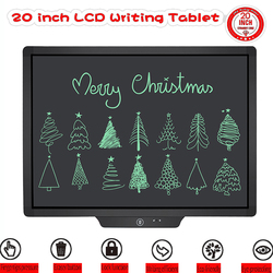 20 Inch LCD Writing Tablet Digital Hand Drawing Children Handwriting Pads Message Electronic Graphic Tablet Board Graffiti