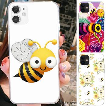 Reall Hard bee Phone Case For iPhone 7 8 Plus X XS Max XR Coque Case For iphone 5s SE 2020 6 6s 11Pro image