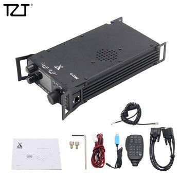 Tzt Kortegolf Radio Transceiver Hf 20W Ssb/Cw/Am 0.5-30 Mhz W/Ingebouwde In Antenne Tuner Xiegu G90