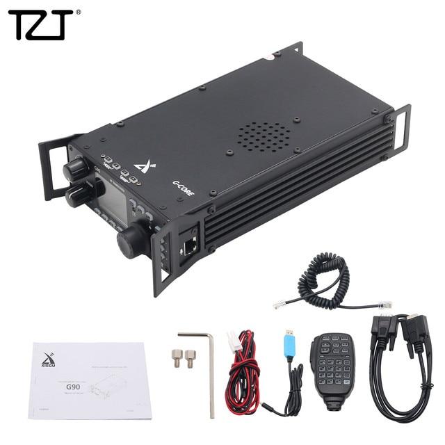Tzt Kortegolf Radio Transceiver Hf 20W Ssb/Cw/Am 0.5 30 Mhz W/Ingebouwde in Antenne Tuner Xiegu G90