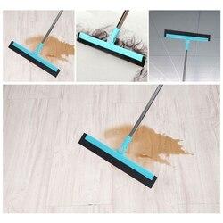 180 stopni regulowany 35.4 Cal długi uchwyt ściągaczki podłogowe z do mycia i suszenia płytki szklane marmuru i powierzchni drewna w Mopy od Dom i ogród na