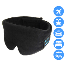 Bluetooth Eye Mask Wireless Headphone Bluetooth Eye Mask Sleep Eye Mask Music Sleeping  Mask With Built-in Speakers Mic plus rabbit print button up pajama set with eye mask