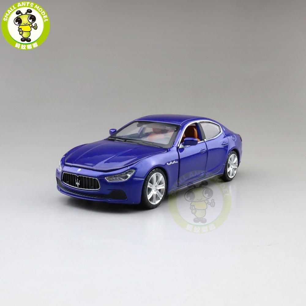 1/32 Ghibli Diecast Model CAR Toys For Kids Boys Girls Gifts Sound Lighting Pull Back