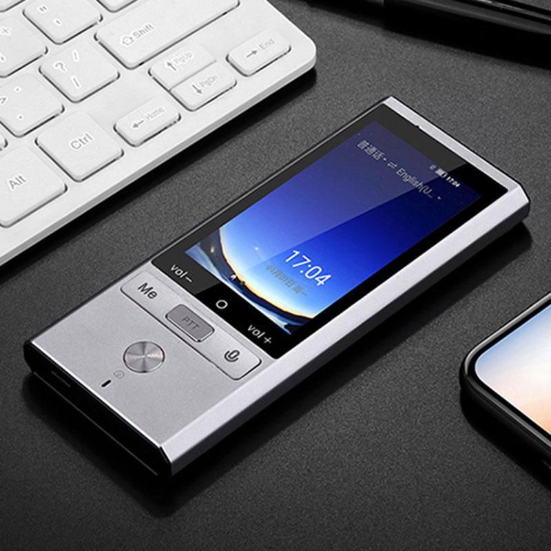 Dispositivo traduttore intelligente portble vocale multi lingue offline Interprete simultaneo russo versione Itranslator Giapponese