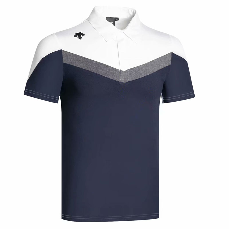 New Short Sleeves Golf T-Shirt Summer Golf Clothes Outdoor Sports Men Golf T-Shirt  Leisure Shirt