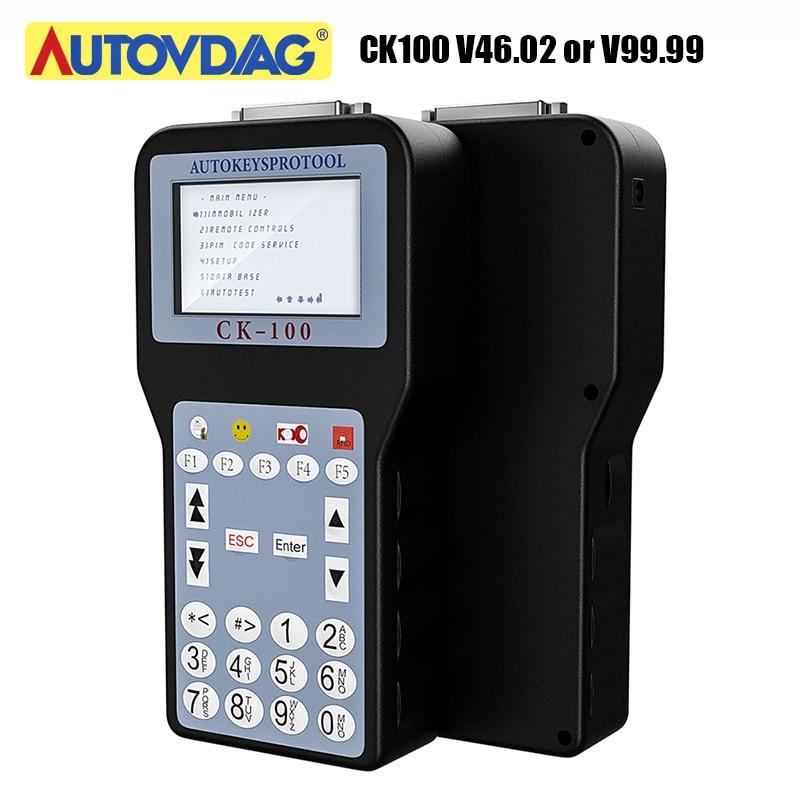 OBD2 Key Programmer CK100 V46.02 CK100 V99.99 Key Programmer With 1024 Tokens Tokens Better Than SBB 46.02 Pin Code Key Reader