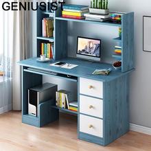 Tafelkleed wsparcie Ordinateur przenośne biuro Meuble Schreibtisch biurowe biurko komputerowe stolik nocny podstawka do laptopa z półką tanie tanio GENIUSIST NONE HOME CHINA Laptop biurko
