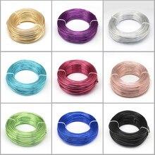 500g 0.6/1.2/1.5/2.0/3.0mm fil daluminium bijoux à bricoler soi même composants accessoires trouver fabrication colliers Bracelets artisanat fournitures