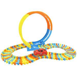 Building Blocks Track Toy DIY