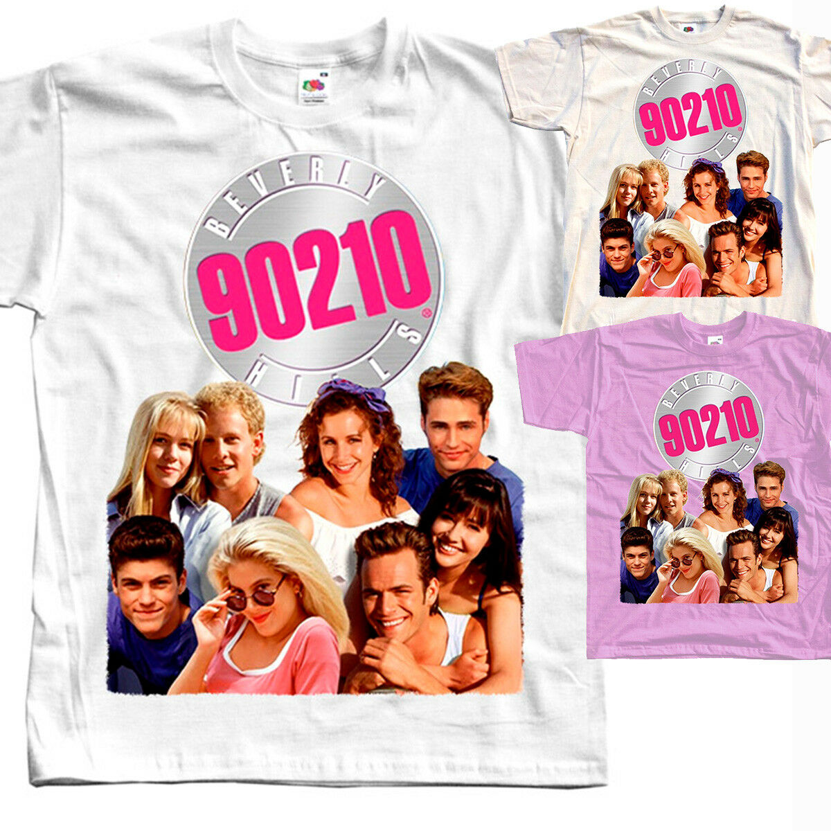 all sizes S to 5XL Jason Priestley WHITE,PINK,NATURAL Beverly Hills V4 T-SHIRT