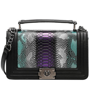 Luxury Brand Women Bag Snake C