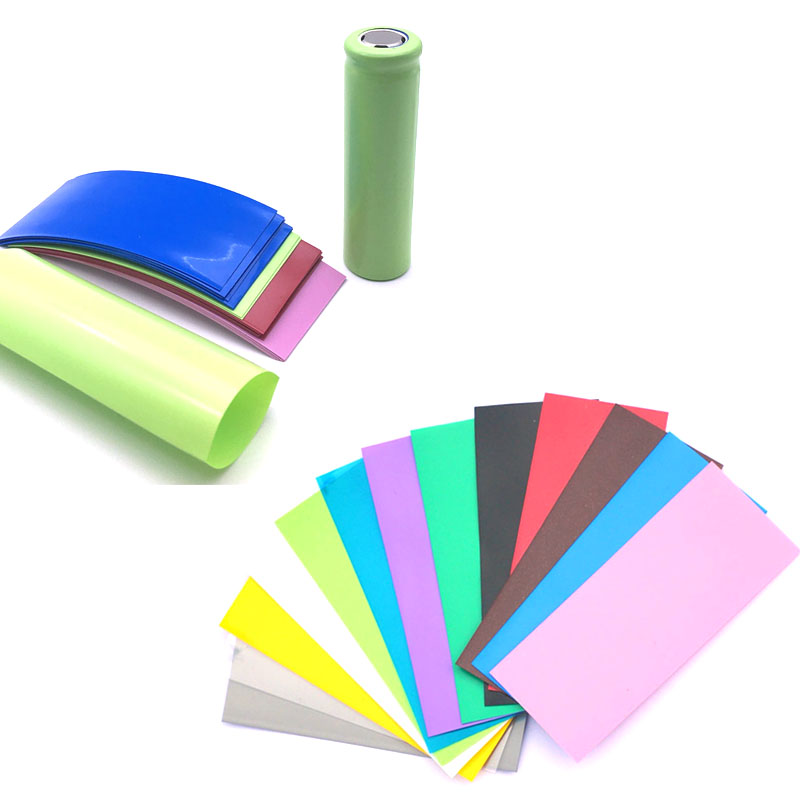 20Pcs 21700 Battery PVC Skin Sticker Shrinkable Wrap Cover Sleeve Heat Shrink Re-wrapping For Batteries Wrapper