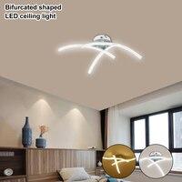 Strange LED Ceiling Lights Fork Embedded 21W 3000K White/Warm White Home Lighting Living Room Bedroom Decor Lamp