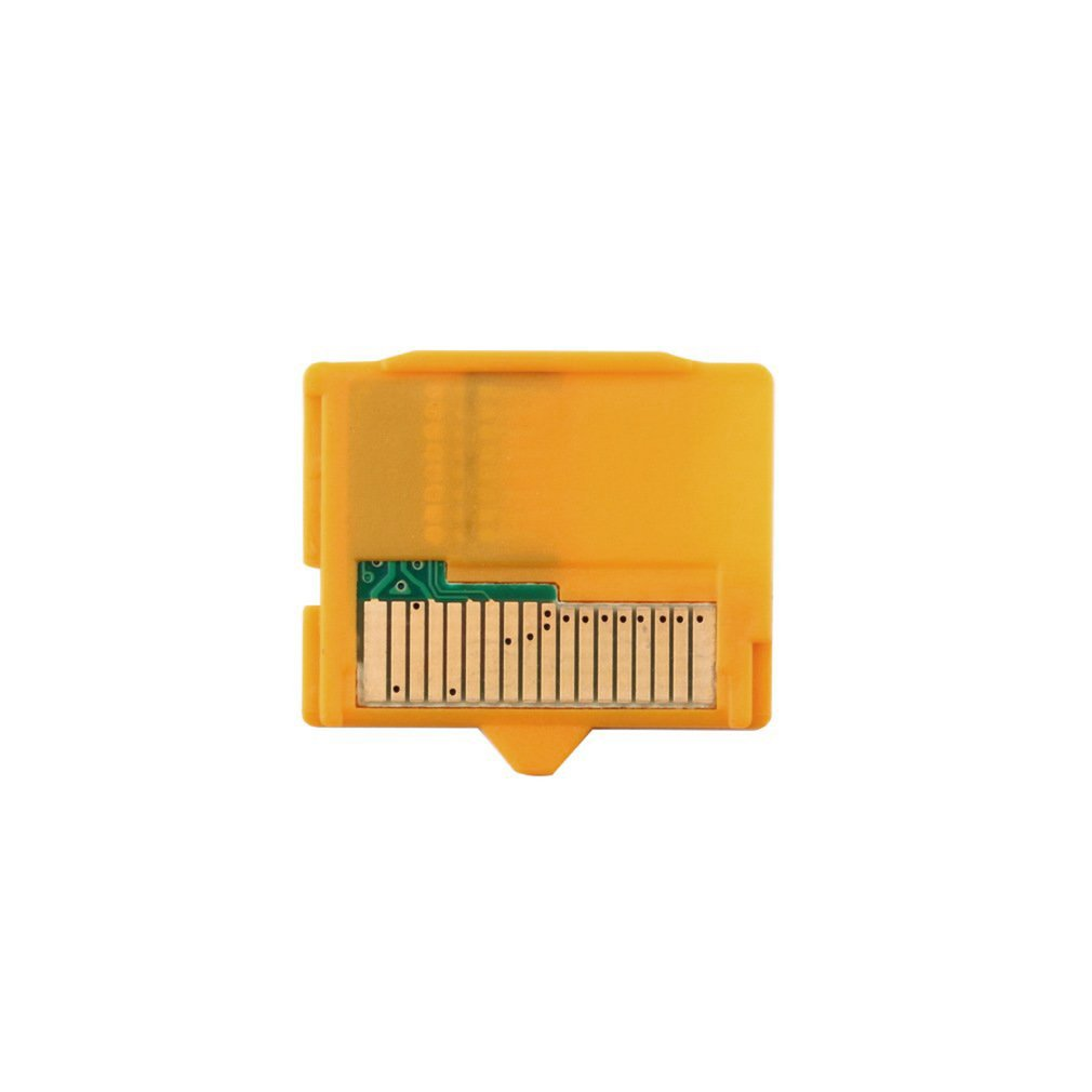 Yellow 1pcs Micro SD Attachment MASD-1 Camera TF To XD Card Insert Adapter 25 X 22 X 2mm(L X W XH) For OLYMPUS