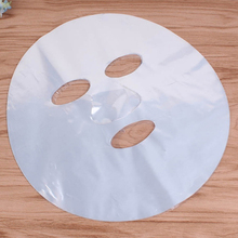 200pcs Natural Disposable Plastic Paper Masks Facial Beauty Healthy Tool Plastic Film Skin Care Full Face Cleaner Mask Paper