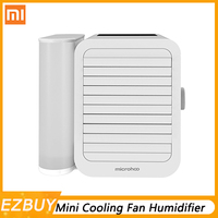 XIAOMI Microhoo 3 In 1 Mini USB Air Conditioner Water Personal Cooling Fan Touch Screen Timing Artic Cooler Humidifier 1000ml