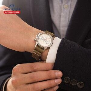Image 5 - Ручной Хронограф, часы пилоты в стиле ретро, памятные механические часы ограниченного выпуска