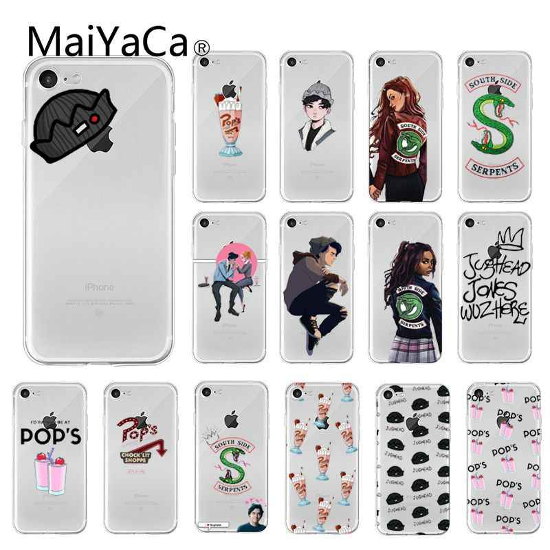 MaiYaCa Hot TV Riverdale TPU Soft Silicone Phone Case  for iPhone 8 7 6 6S Plus X XS MAX 5 5S SE XR 10 Cover