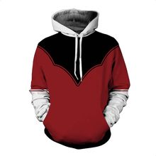 Anime Naruto Hokage Dragon Ball Z Een Stuk Hoodie Sweatshirt Super Saiyan Goku Zwart Vegeta Jiren Kakashi Law Coat 5XL(China)