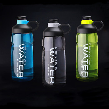 2000ml Large Capacity Water Bottles BPA Free Gym Fitness Kettle Outdoor Camping Picnic Bicycle Cycling Climbing Shaker Bottles 1