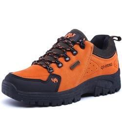 Autumn Suede Casual Shoes Men Wear Resisting Comfortable Walking Sneakers Men Women Sport Hiking Boots Classic Trendy Footwear