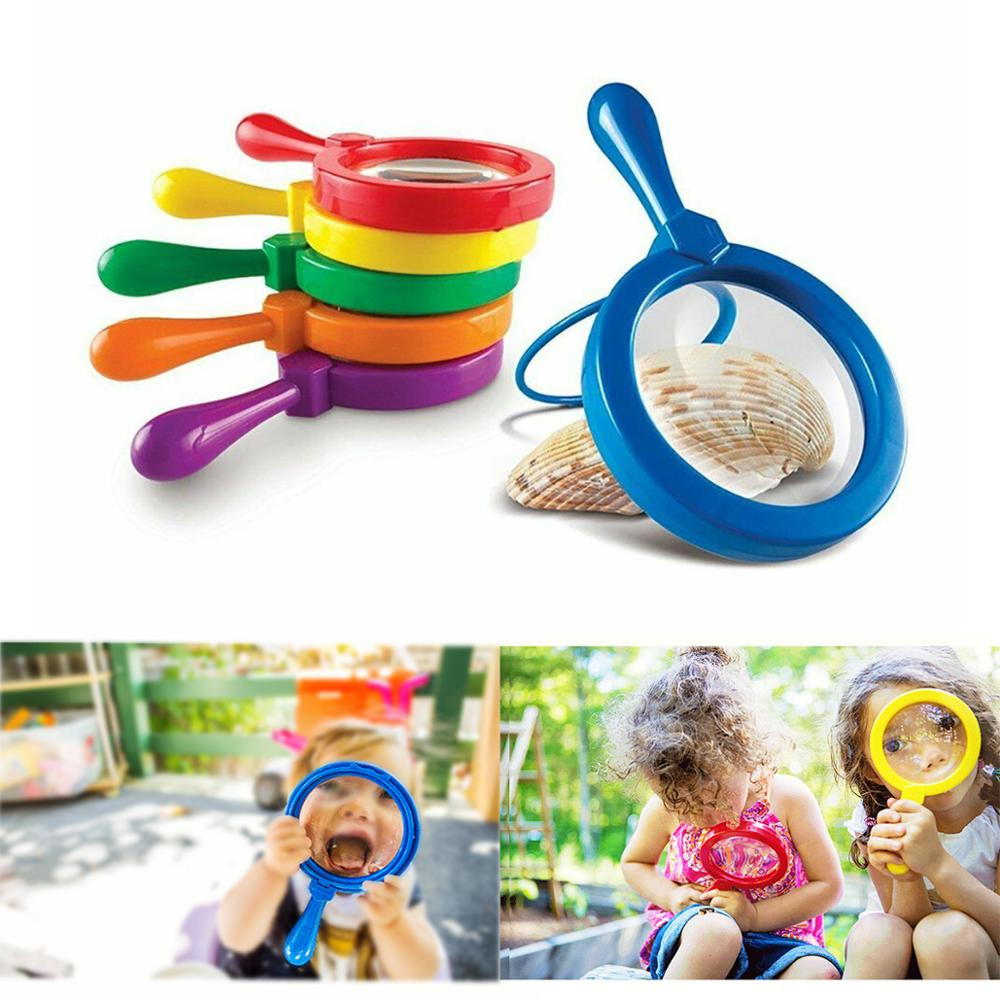 Kids Jumbo Magnifying With Stand Magnifier Glass Learning Resources Educational Toys For Children