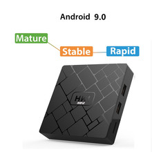 Transpeed Android 9.0 Smart TV BOX RK3229 2G DDR3 16G EMMC ROM Set Top Box 4K 3D H.265 Wifi media player TV Receiver play store ai one smart tv box android 8 1 2g ram 16g rom rk3229 home threater player support 4k 2k 2 4g wifi bluetooth with voice control