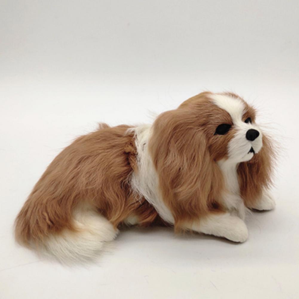 Милая кукла-симулятор, плюшевая игрушка, Реалистичная Изысканная Милая плюшевая игрушка для собаки, Идеальный Рождественский подарок для м...