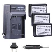 3 adet 1030mAH BP-1030 BP 1030 Şarj Edilebilir Kamera Pil + araba şarjı Için NX200 NX210 NX300 NX500 NX1000 NX1100 NX-300M