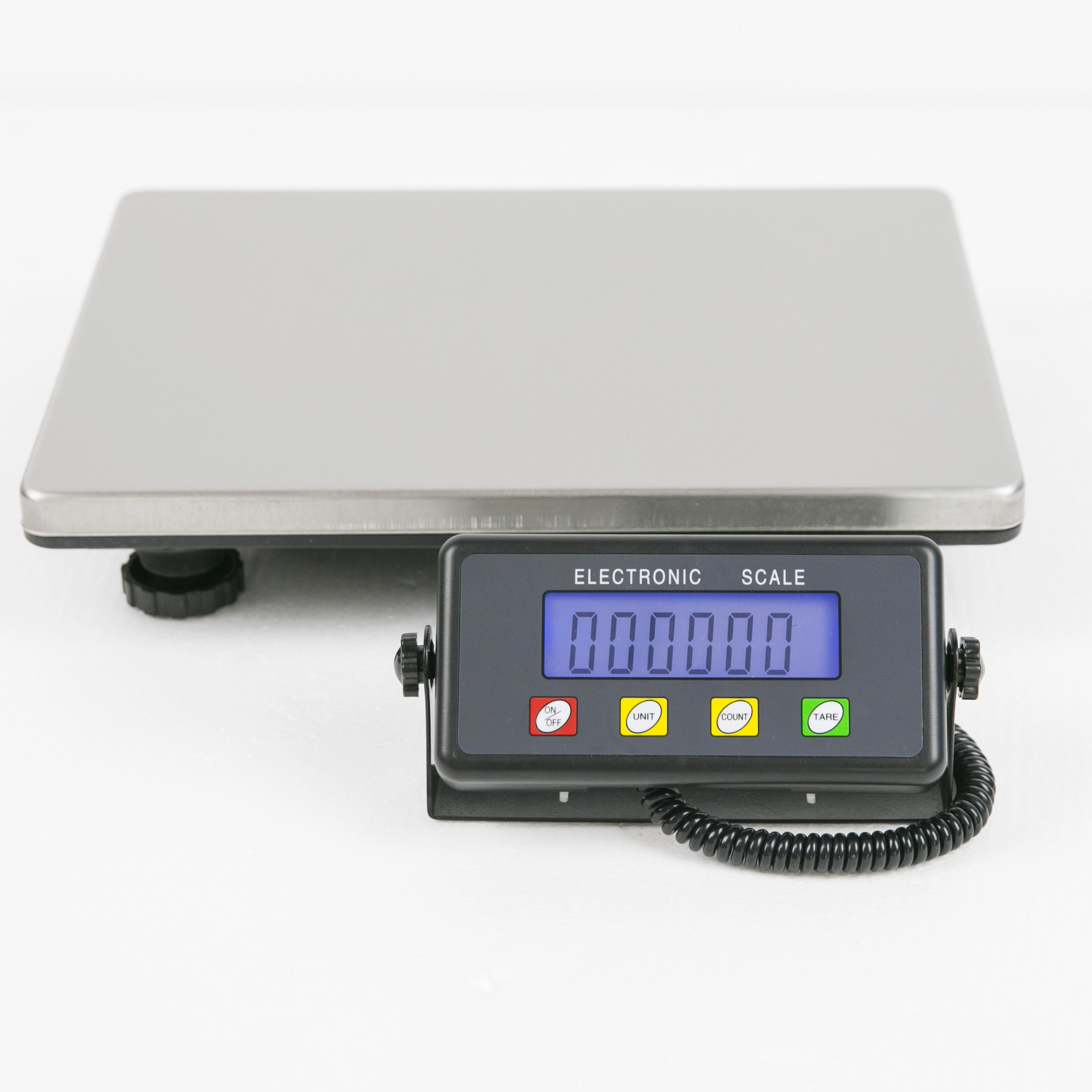 Premium White 25kg//1g Digital Kitchen Scale Commercial Electronic Postal Scales