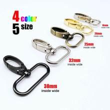 Metal Swivel Lobster Leather Bag Handbag Purse Shoulder Strap Belt Clip Trigger Buckle Keychain Key Ring Dog Chain Collar Clasp
