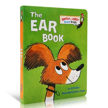 Drawing Book Dr Seuss The Ear Baby Cardboard Manga Book English Coloring Books For Kids Memorie Games Educational Learning Toys dr seuss the tooth book