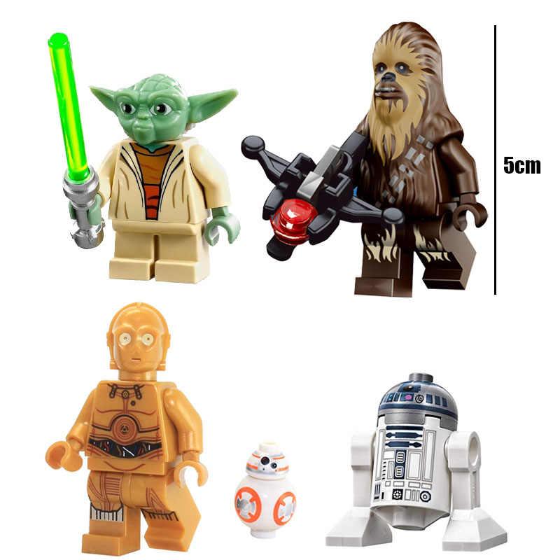 Игрушка Звездные войны взлет Скайуокера Рей Кайло Рен штурмовик, Чубакка фигурка строительный блок кирпич совместим с Lego