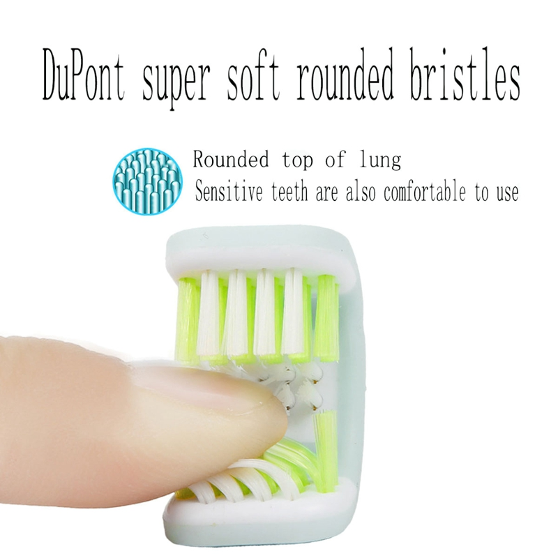 U-Shaped Three Side Electric Toothbrush Replacement Brush Heads Deep Cleaning Included Wraps Teeth Toothbrush