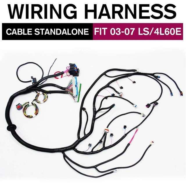 03 07 LS tak szybko, jak to możliwe do VORTEC samodzielny kable W wiązce W/4L60E DBC 97 06 T56 kable W wiązce jazdy samochodem za pomocą drutu 4.8 5.3 6.0 3 rodzaje