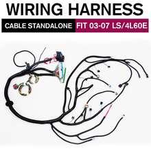 03 07 ls vortecスタンドアロン配線ハーネスw/4L60E dbc 97 06 T56 配線ハーネスによるドライブワイヤー 4.8 5.3 6.0 3 タイプ