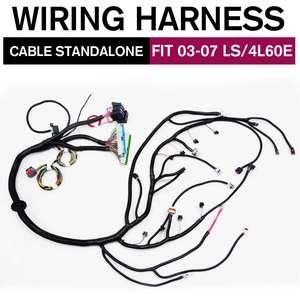 Image 1 - 03 07 ls vortecスタンドアロン配線ハーネスw/4L60E dbc 97 06 T56 配線ハーネスによるドライブワイヤー 4.8 5.3 6.0 3 タイプ