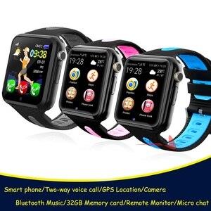 Image 1 - Đồng Hồ Định Vị Cho Bé Đồng Hồ Thông Minh Cho Trẻ Em Bé Trai Gái Apple Android Đồng Hồ Thông Minh Smartwatch Hỗ Trợ 2 SIM Thẻ TF MTK2503 Quay Số Cuộc Gọi tin Nhắn Push V5K