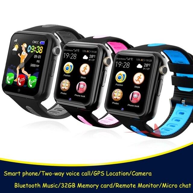Đồng Hồ Định Vị Cho Bé Đồng Hồ Thông Minh Cho Trẻ Em Bé Trai Gái Apple Android Đồng Hồ Thông Minh Smartwatch Hỗ Trợ 2 SIM Thẻ TF MTK2503 Quay Số Cuộc Gọi tin Nhắn Push V5K