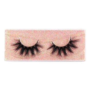 FOXESJI Makeup Eyelashes 3D Mink Lashes Fluffy Soft Wispy Volume Natural long Cross False Eyelashes Eye Lashes Reusable Eyelash 4